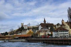 Luzerne in Zwitserland Royalty-vrije Stock Fotografie