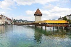 Luzerne Zwitserland Stock Afbeeldingen