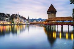 Luzerne, Zwitserland Royalty-vrije Stock Afbeeldingen