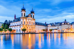 Luzerne, Zwitserland Stock Afbeelding