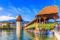 Luzerne, Zwitserland Royalty-vrije Stock Fotografie