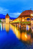 Luzerne, Zwitserland Stock Afbeeldingen