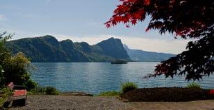 Luzerner See lizenzfreies stockfoto