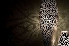 Luzes árabes com sombras Fotografia de Stock