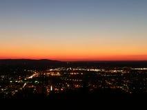 Luzes 01 da cidade Foto de Stock Royalty Free