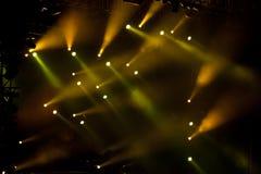 Luzes 05 do estágio Fotografia de Stock