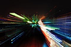 Luzes abstratas Fotografia de Stock Royalty Free