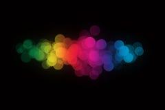 Luzes abstratas fotos de stock