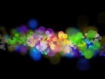 Luzes abstratas Foto de Stock