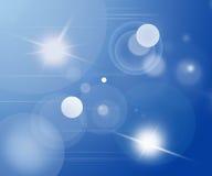 Luzes abstratas Imagens de Stock