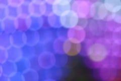 Luzes abstratas Fotografia de Stock