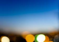 Luzes abstratas Imagem de Stock Royalty Free