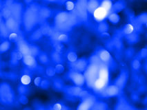 Luzes abstratas - azul Fotos de Stock Royalty Free
