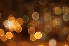 Luzes abstratas, cidade da noite Imagens de Stock