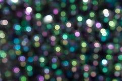 Luzes abstratas coloridas de Bokeh Imagens de Stock