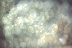 Luzes abstratas do bokeh Fotos de Stock Royalty Free
