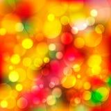 Luzes abstratas Fundo colorido Fotos de Stock