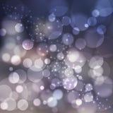 Luzes abstratas Fundo colorido Fotografia de Stock Royalty Free