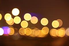 Luzes abstratas, rasgos nos olhos Fotografia de Stock Royalty Free