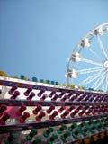 Luzes & roda de ferris coloridas Fotografia de Stock