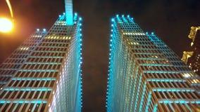 Luzes azuis acima Imagens de Stock Royalty Free