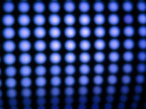 Luzes azuis conduzidas Foto de Stock Royalty Free
