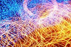 Luz da dança foto de stock royalty free