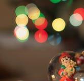 Luzes bonitas - o Natal está vindo Fotos de Stock Royalty Free