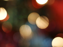 Luzes borradas Fotografia de Stock Royalty Free
