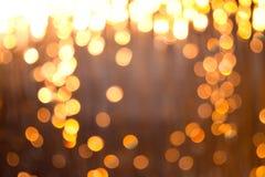Luzes borradas Fotos de Stock