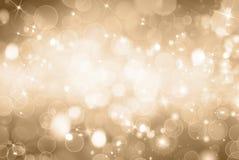 Luzes borradas Foto de Stock