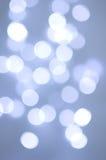 Luzes borradas Foto de Stock Royalty Free