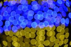 Luzes borradas Imagens de Stock Royalty Free