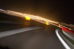 Luzes borradas Imagens de Stock