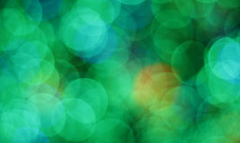 Luzes borradas coloridas Imagem de Stock Royalty Free