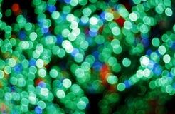 Luzes borradas coloridas Imagem de Stock