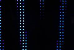 Luzes borradas do bulbo do diodo emissor de luz Imagens de Stock