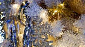 Luzes borradas douradas/Bokeh para a apresentação, Natal, fundo da celebração do ano novo imagens de stock