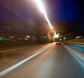Luzes borradas movimento Imagens de Stock