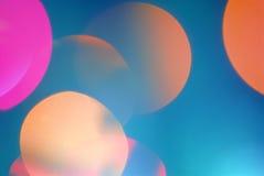 Luzes borradas sumário Imagem de Stock Royalty Free