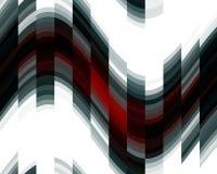 Luzes brancas vermelhas pretas dos contrastes, textura, fundo abstrato ilustração royalty free