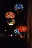 Luzes chinesas do restaurante Imagens de Stock