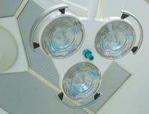 Luzes cirúrgicas Foto de Stock