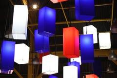 Luzes coloridas imagem de stock