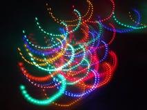 Luzes coloridas Fotografia de Stock