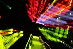 Luzes coloridas Imagem de Stock Royalty Free