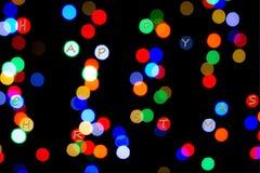 Luzes coloridas fotografia de stock royalty free