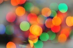 Luzes coloridas borradas Foto de Stock