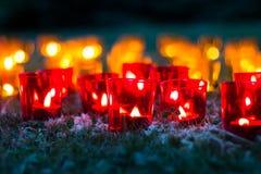 Luzes - comemoração, romance, beleza Foto de Stock Royalty Free