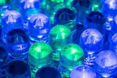 Luzes conduzidas Imagem de Stock Royalty Free